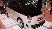 Abarth 500C, Abart Punto Evo live in Geneva 04.03.2010