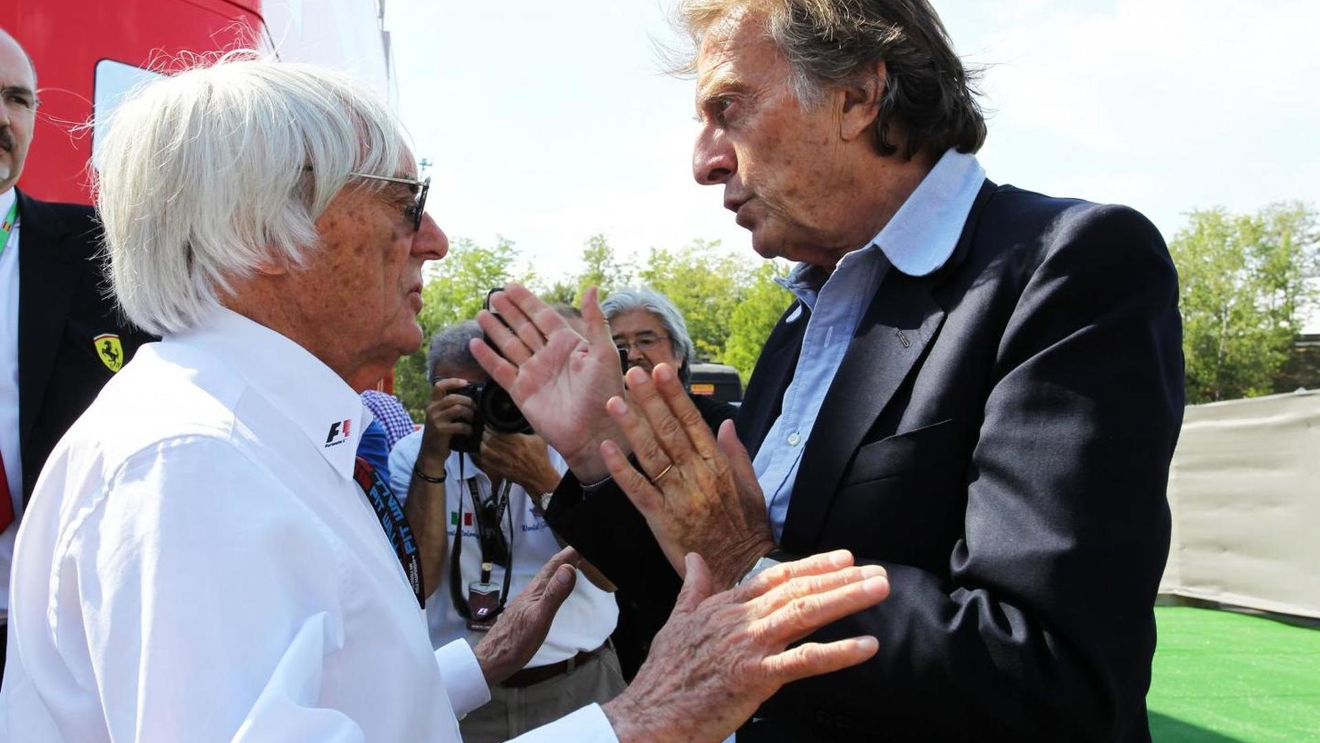 Montezemolo denies calling for Ecclestone axe