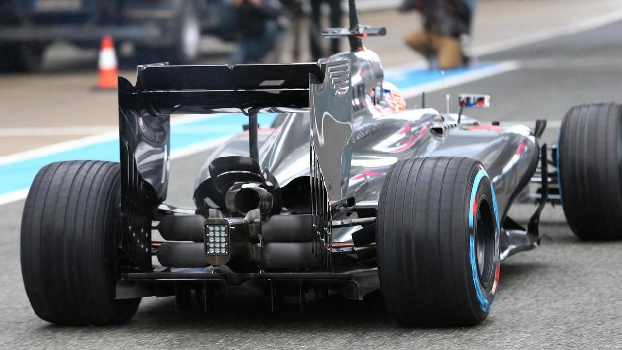 Jenson Button with McLaren MP4-29  Formula One Testing Jerez Spain