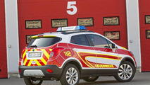Opel Mokka emergency vehicle unveiled for RETTmobil 2015