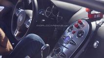 Bugatti Veyron successor spied inside & out