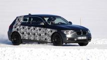 New 2013 three-door BMW 1-series prototype spy photo