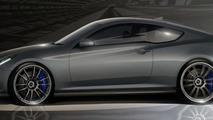 Hyundai Genesis Hurricane SC coupe teased for SEMA