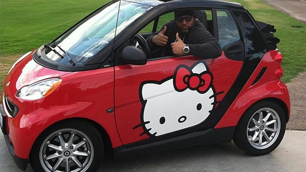 Hello Kitty smart ForTwo - 5.10.2011
