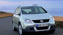 VW CrossGolf World Debut at Paris