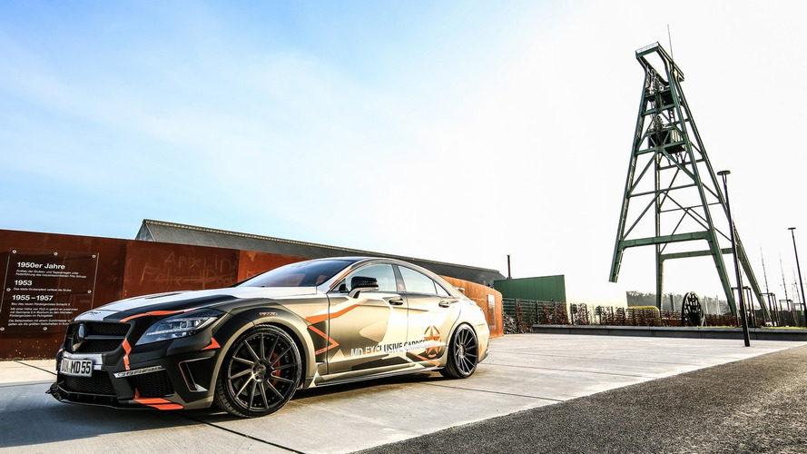 Tuner's Mercedes CLS 500 isn't stealthy at all