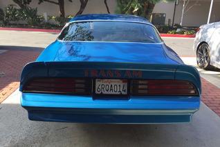 Brilliant Blue 1978 Pontiac Trans Am Needs a New Home