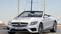2016 Mercedes-Benz S-Class Convertible render seems just about right