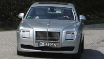 Rolls-Royce Ghost facelift spy photo 25.4.2013