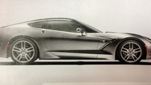 2014 Corvette side and interior photos available