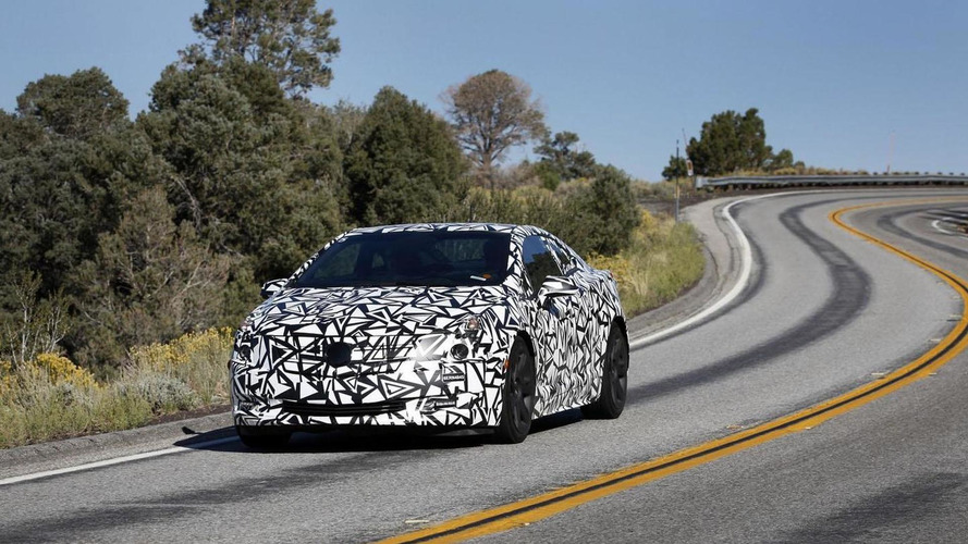 2014 Cadillac ELR teased in official spy photo