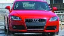 Test driving the Audi TT Coupe