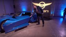 Watch how the Rezvani Beast Alpha's Sidewinder doors open