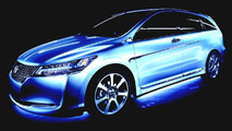 Honda Stream Exclusive Concept Vehicle