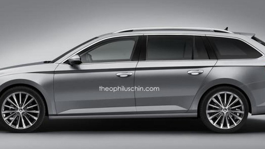 Skoda Superb Combi to be launched in September, spied in Czech Republic [video]
