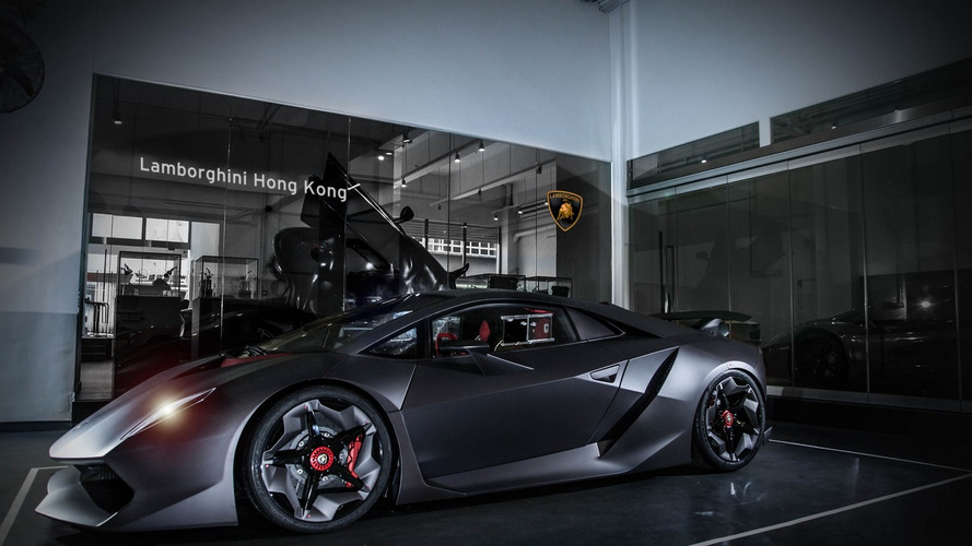 Lamborghini Sesto Elemento arrives in Hong Kong