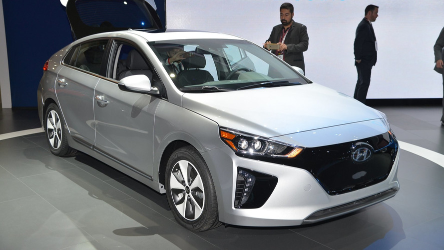 Hyundai Ioniq EV to have 250-mile range by 2020