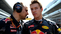 Daniil Kvyat, Red Bull Racing on the grid
