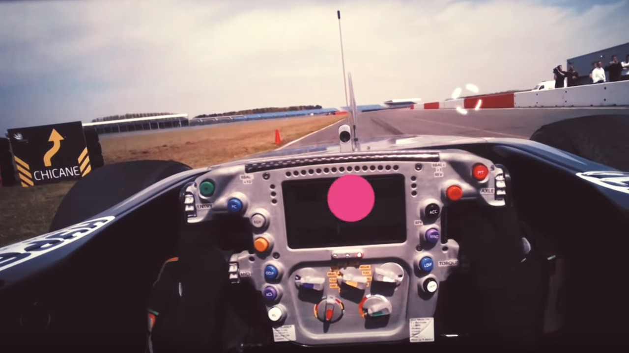 Experience what an F1 driver sees with eye-tracking technology
