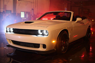 The World's Only Challenger Hellcat Convertible Costs $140,000