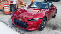 New MX-5 owner crashes his car right after delivery, Mazda replaces it