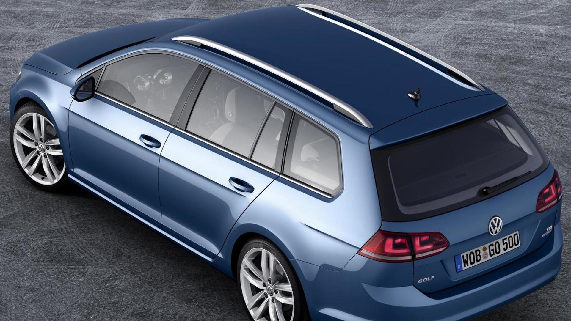 2013 Volkswagen Golf Variant first official photos available [more photos added]