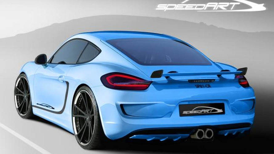 2013 Porsche Cayman based SpeedART SP81-CR announced for Geneva