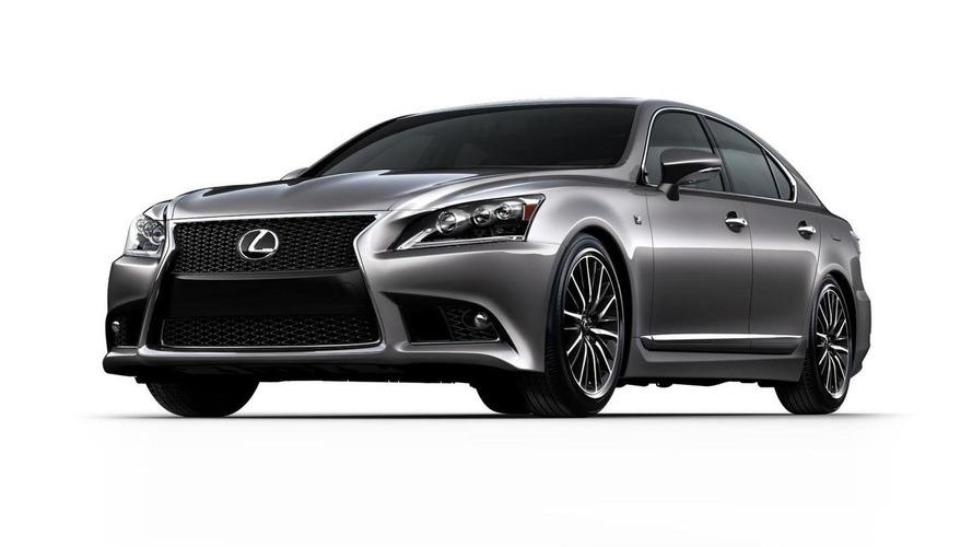 2013 Lexus LS revealed