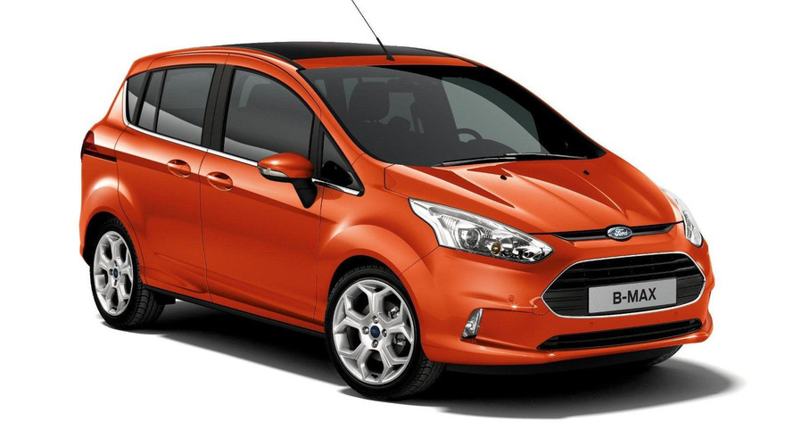 Ford B-Max unveiled in Geneva [videos]