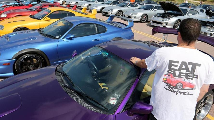 Toyota celebrates the 20th anniversary of the Supra Mk IV