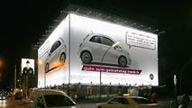 Huge Fiat 500 billboard in Berlin