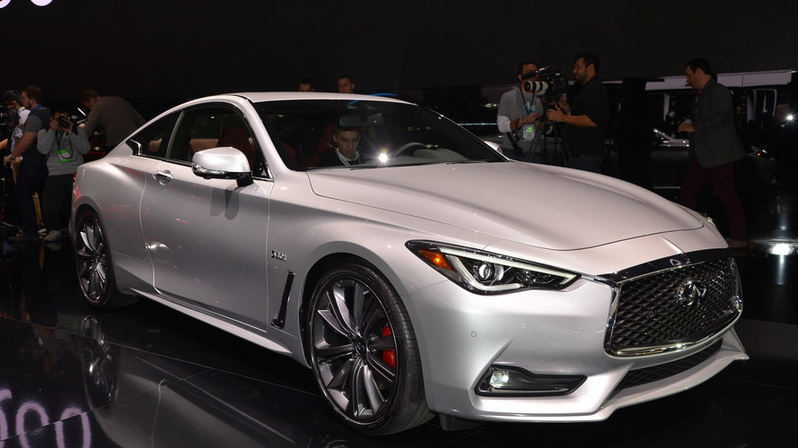 2017 Infiniti Q60 Coupe bows in Detroit with 400-hp biturbo V6 [LIVE PICS]