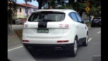 Flagra: novo SUV JAC T6 já roda em testes com motor 2.0 JetFlex
