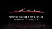 Mercedes-Maybach S650 Cabriolet to drop its luxurious top in L.A.