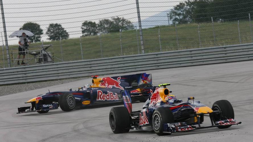 'Politics' explains Red Bull crash blame - Verstappen