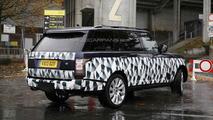 Range Rover long wheelbase SVR (not confirmed) spy photo