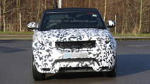 2016 Range Rover Evoque Cabrio spy photo
