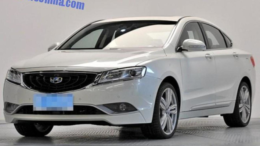 Geely GC9 leaked in production presentation ahead of next week premiere