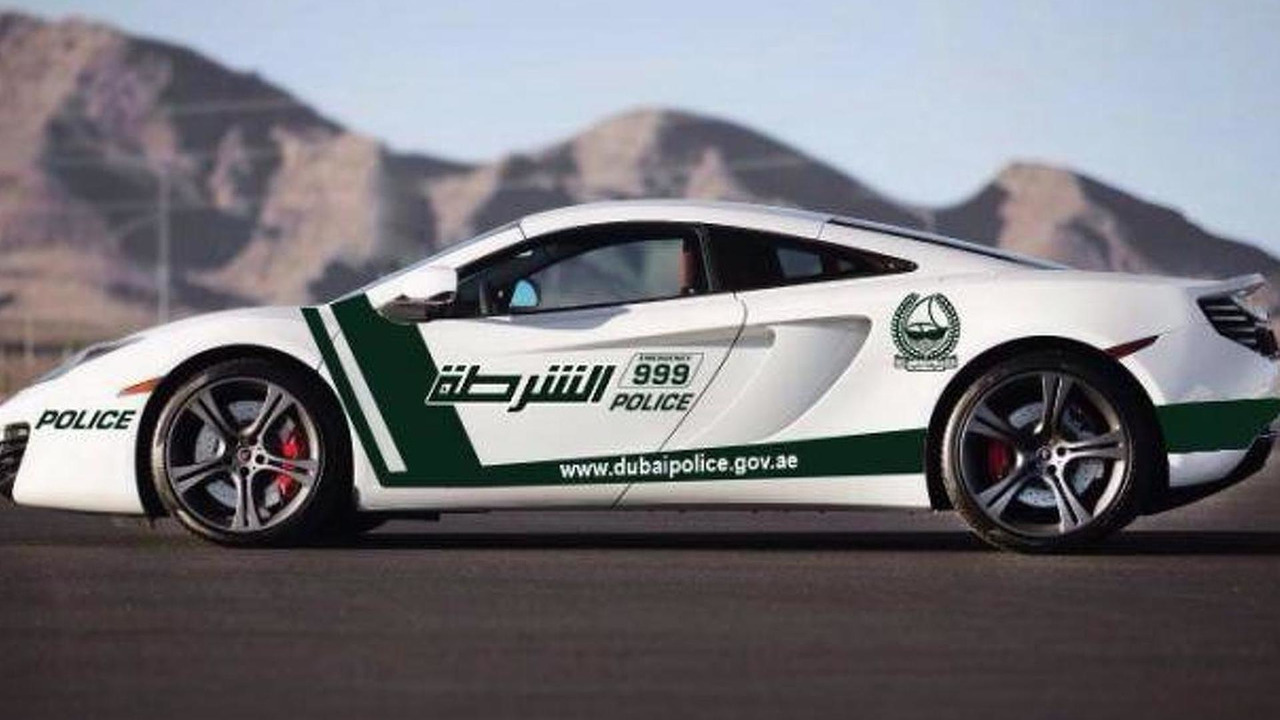 McLaren MP4-12C for the Dubai Police