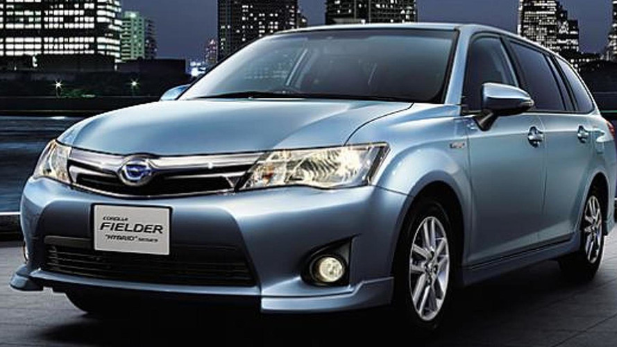 Toyota Corolla Axio and Corolla Fielder hybrids launched in Japan