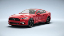 2015 Ford Mustang leaked from all angles