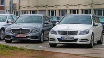 2015 Mercedes-Benz C-Class Estate spy photo