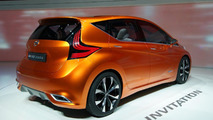 Nissan Invitation concept live in Geneva 06.03.2012