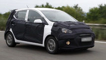 2014 Hyundai i10 spied for the first time