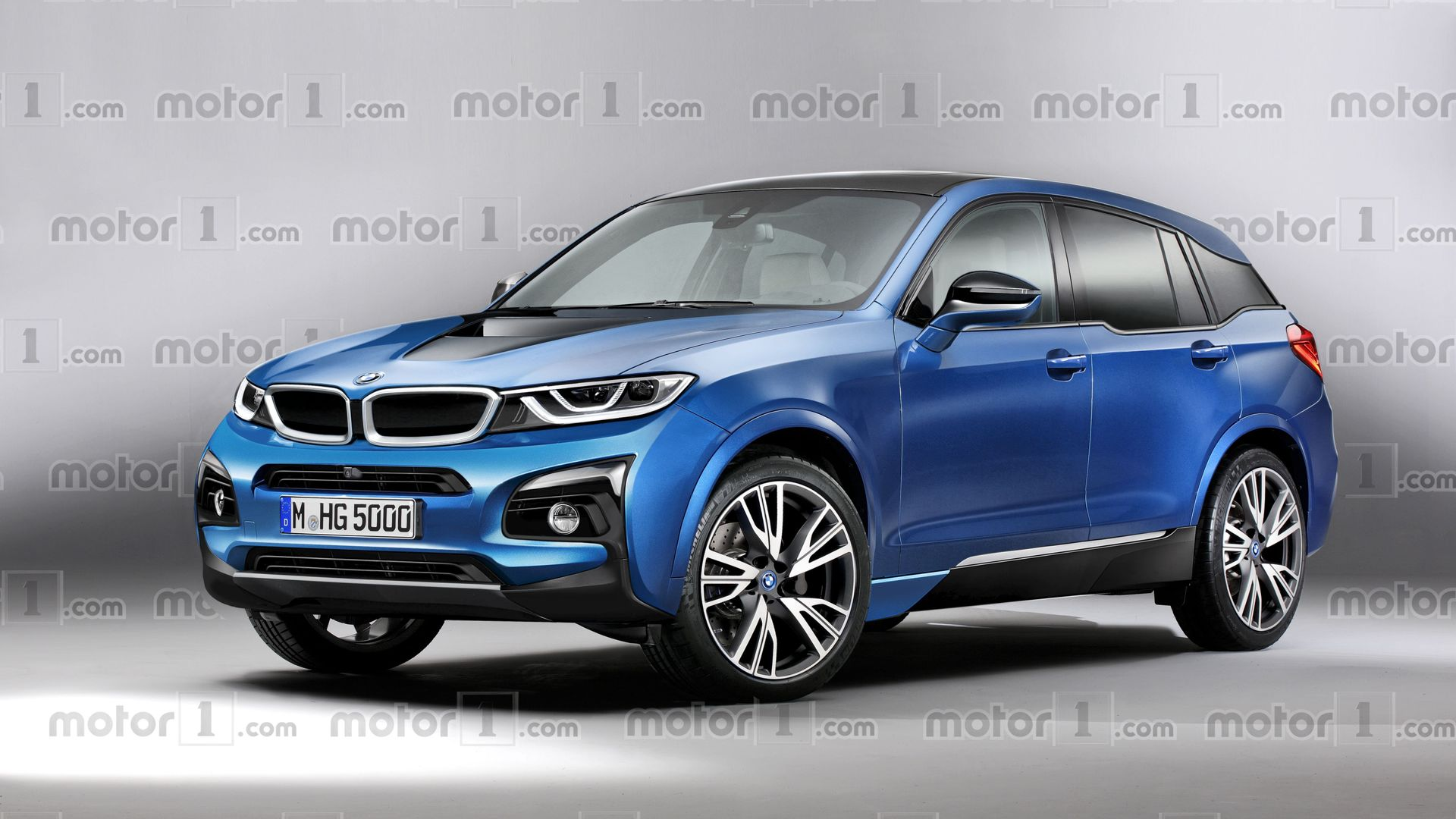 bmw i5 imagined as x5 39 s electric brother. Black Bedroom Furniture Sets. Home Design Ideas