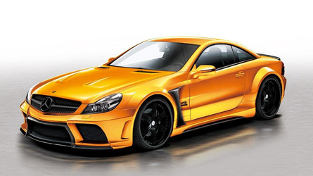 Veilside SL65 AMG Black Series conversion for SL-Class