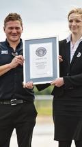 Mercedes sets world drift record [video]