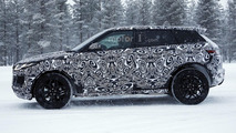 Jaguar E-Pace spy photo