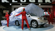 Toyota Kluger unveiling at Melbourne