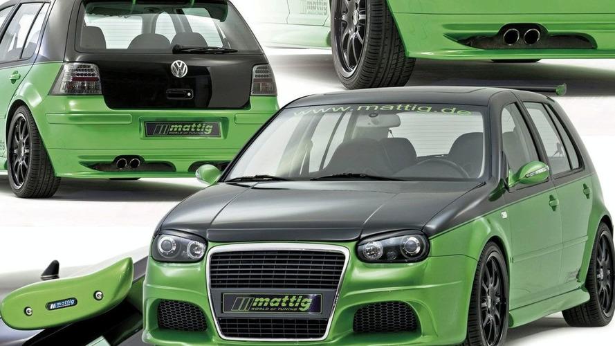 VW Golf IV Gets Enhanced Appearance from Mattig